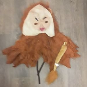 Lion Adult Costume halloween mask tail wig